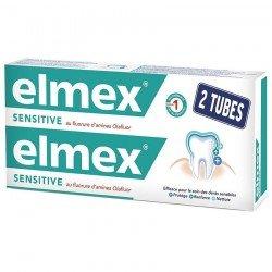 Elmex Sensitive Dentif Tube 2 X 75ml