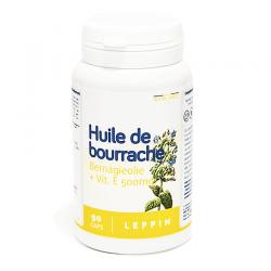 Leppin huile de bourrache gélules (90)