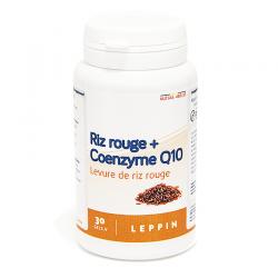Coenzyme q10 + levure riz rouge leppin pot caps 30