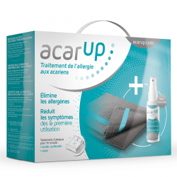 Acar'Up Anti-Acarien Vaporisateur 100ml + 2 Supports Textile