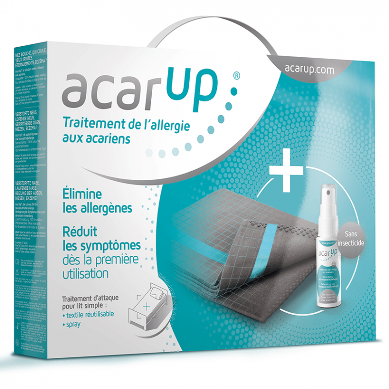 Kit acar 39 up anti acariens vaporisateur 100ml support for Anti acariens maison