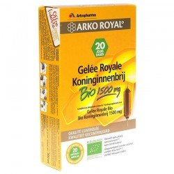 Arkoroyal Gelée Royale Bio 1500mg Amp 20x15ml