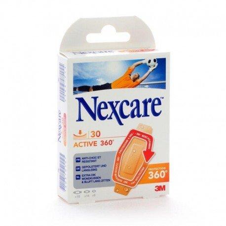 Nexcare active 360 strips assortis 30