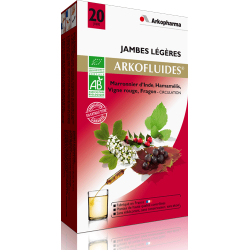 Arkofluides Jambes legeres/circulation unicadoses 20 x 15ml