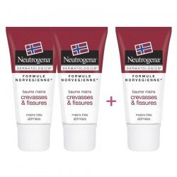 Neutrogena pack baume mains 3x15ml 2+1 gratuit