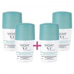 Vichy pack déo anti-trans 48h 50ml 2+2 gratuits
