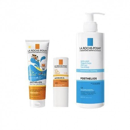 la roche posay pack anthelios kids spf50 nouveaut wet skin. Black Bedroom Furniture Sets. Home Design Ideas