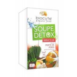 Biocyte soupe detox minceur pdr 16x9g