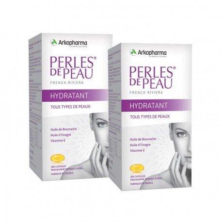 Arkopharma Duo Pack Perles de peau hydratant 2x200 capsules