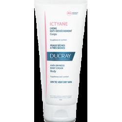 Ducray Ictyane Crème hydratante peau très sèche 200ml