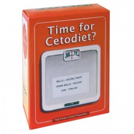 Cetodiet (produits hyperprotéinés) poire belle-helene 6 sachets
