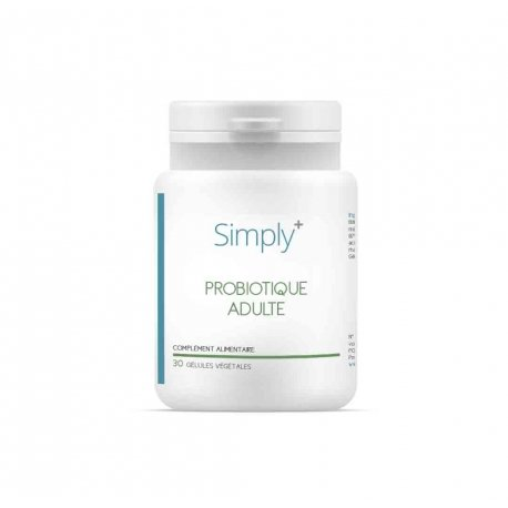 SIMPLY+ Probiotique Adulte 30 gélules
