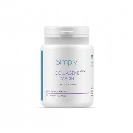 SIMPLY+ Collagène Marin 100% 60 gélules
