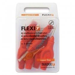 Flexi brossette interdentaire super fine 6 red *819073