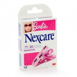 Nexcare sensitive strips 20 barbie