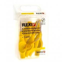 Flexi brossette interdentaire fine yellow 6 *819075