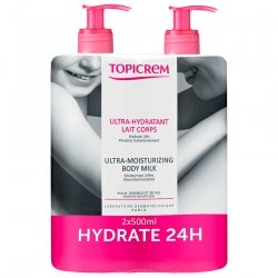 Topicrem Duo Pack UHC Lait hydratant 2x500ml