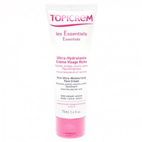 Topicrem Hydra Creme Visage Riche Tube 75ml