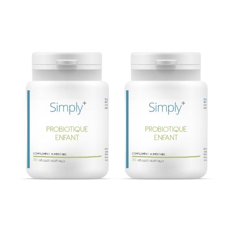 SIMPLY+ DUO PACK Probiotique Enfant 2x30 gélules