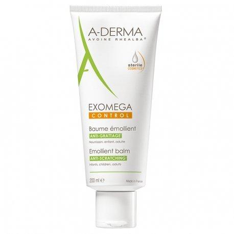 A-derma Exomega Control baume émollient tube 200ml