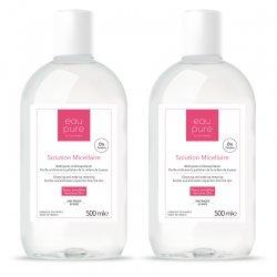 Eau Pure Solution micellaire peaux sensibles - visage & yeux DUO PACK 2x500ml