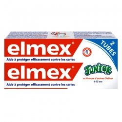Elmex Junior Dentifrice Duopack 2x75ml 2e -50%