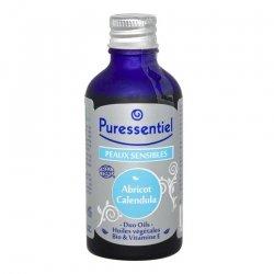 Puressentiel Duo-oil bio abricot calendula peaux sensibles 50ml