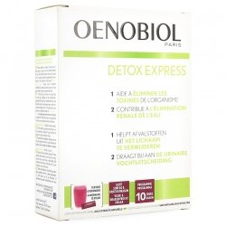 Oenobiol Detox Express Sureaux & Fruit du Dragon Stick 10