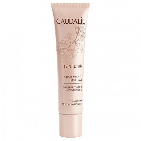 Caudalie Teint divin crème teintée minérale peaux mates tube 30ml