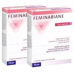Pileje duopack Feminabiane Flore Vaginale 7 comp X2