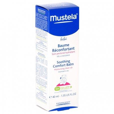 Mustela Bébé Baume Pectoral Réconfortant Nouveau 40ml