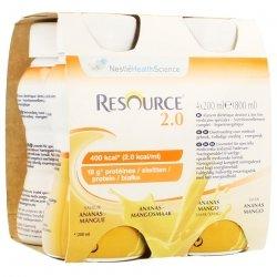 Resource 2.0 Ananas-mangue 4x200ml 12314415
