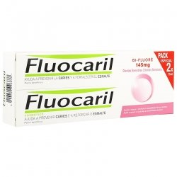 Fluocaril Bi-fluore 145 Dents Sensibles Duo 2x75ml