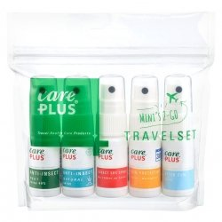 Care Plus colli travelset + clipst