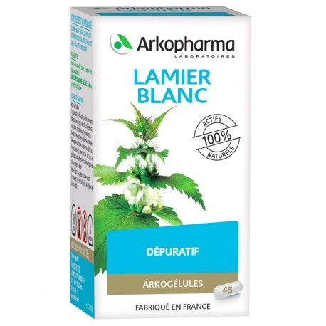 Arkogélules Lamier blanc 45 gélules