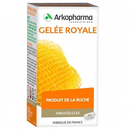 Arkogélules Gelée royale gélules végétales 45