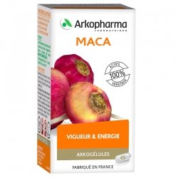 Arkogélules Maca 45 capsules