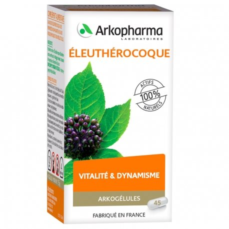 Arkogélules Eleuthérocoque gélules végétales 45