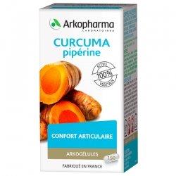 Arkogelules Curcuma + Piperine 150 gél