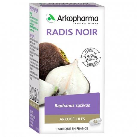 Arkogélules Raifort-radis noir 350mg 45 vegetal