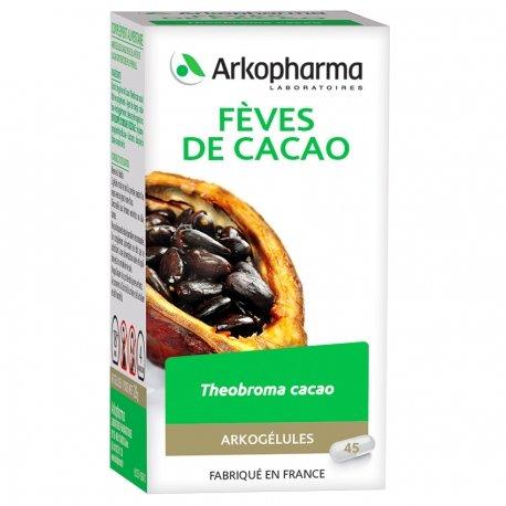 Arkogélules Fèves de cacao 45 capsules