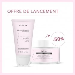 OFFRE ! APHINE Gel Anti-cellulite 150 ml + Gommage exfoliant 250ml à 50%