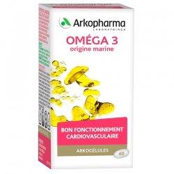 Arkogelules Oméga 3 origine marine 60 capsules