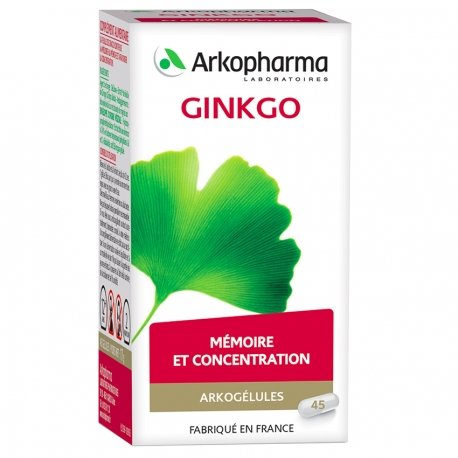 Arkogélules Ginkgo végétales 45 gélules