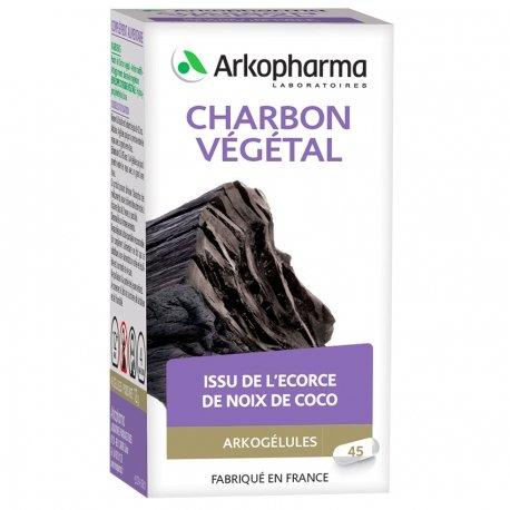 Arkogélules Charbon 45 gélules végétales