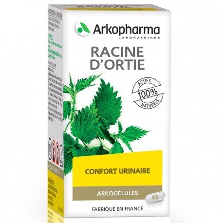 Arkogélules Racine d'ortie végétales 45 gélules