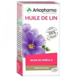 Arkogélules Huile de lin végétales 45 gélules