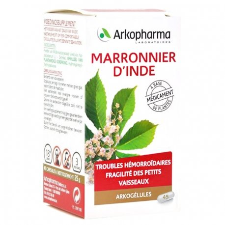 Arkogélules Marronnier d'inde 275mgx45