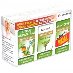 Arkogelules minceur triopack 3x45 capsules