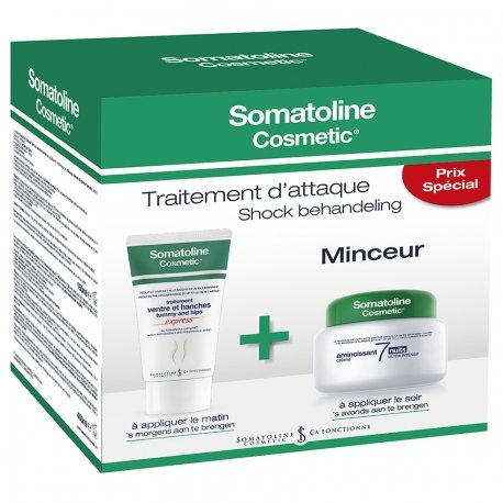 Somatoline Cosm. Duo 7 Nights 400ml + Ventre & Hanches 150ml